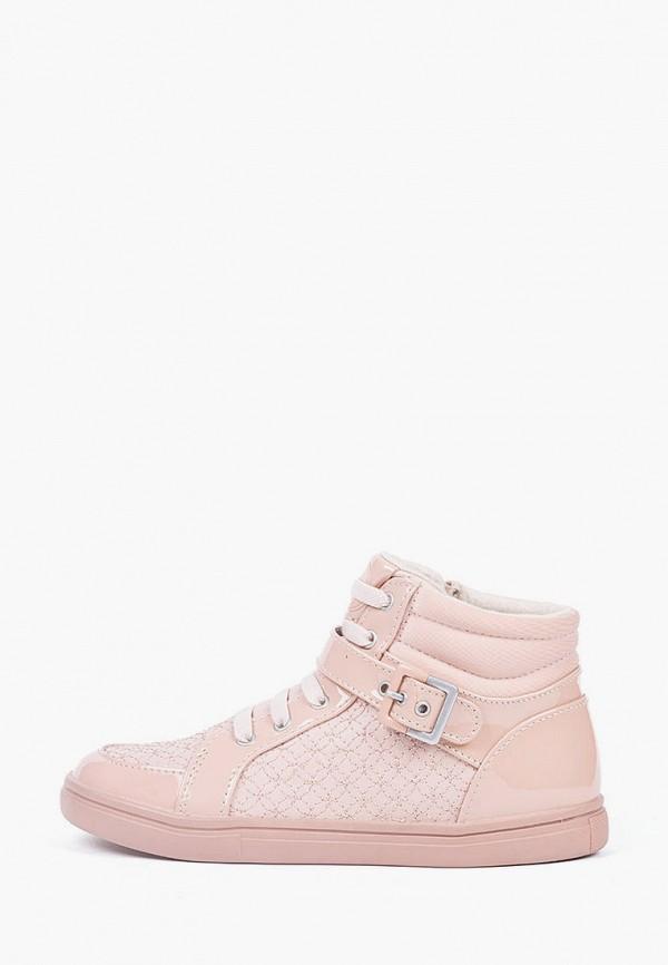 ботинки mayoral для девочки, розовые