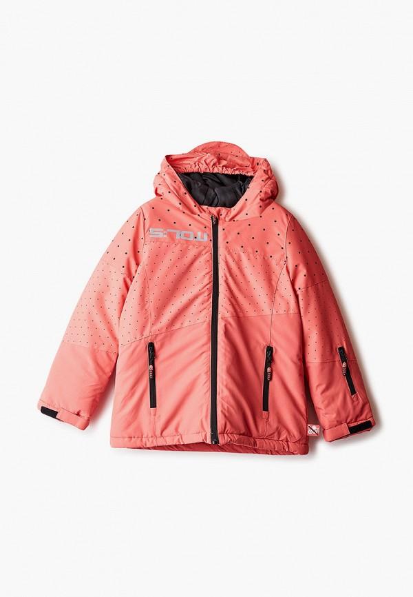 Куртка горнолыжная Coccodrillo розового цвета