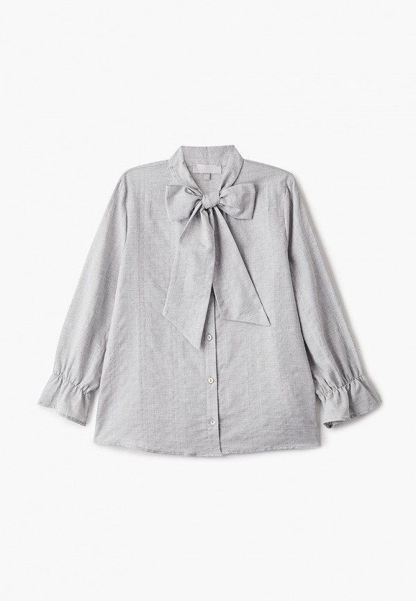 блузка smena для девочки, серая