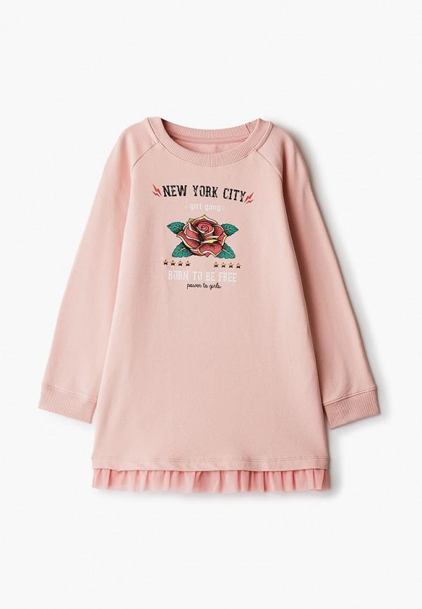 повседневные платье mark formelle для девочки, розовое