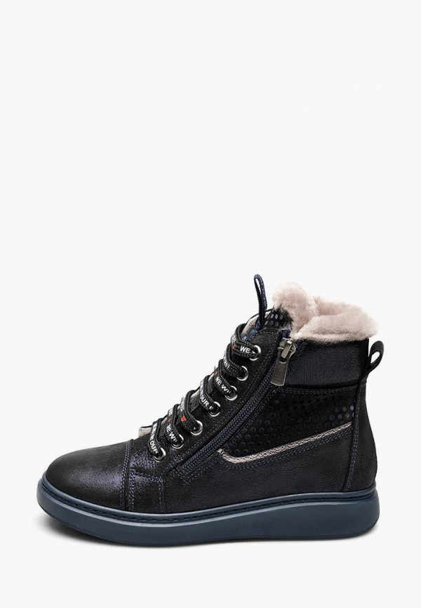 ботинки tutubi для девочки, синие