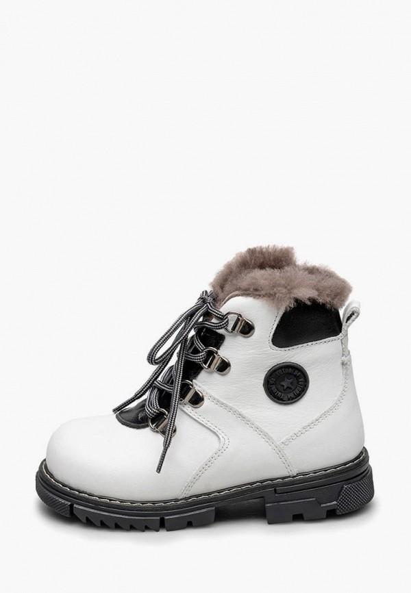 ботинки tutubi для девочки, белые