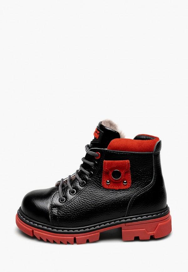 ботинки tutubi для девочки, черные
