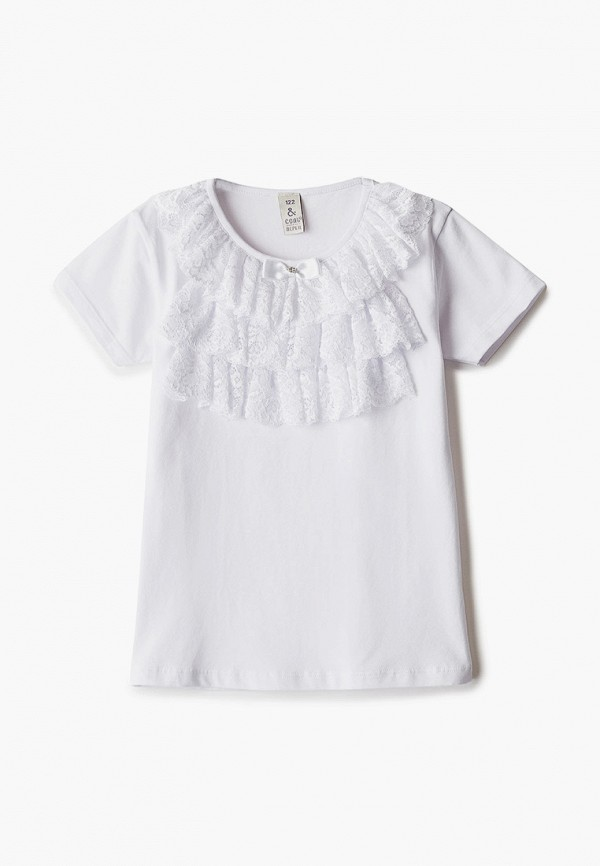 Блуза Соль&Перец Соль&Перец  белый фото