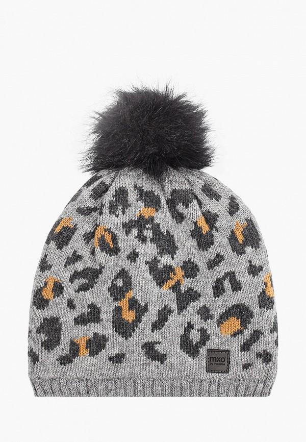шапка maximo для девочки, серая