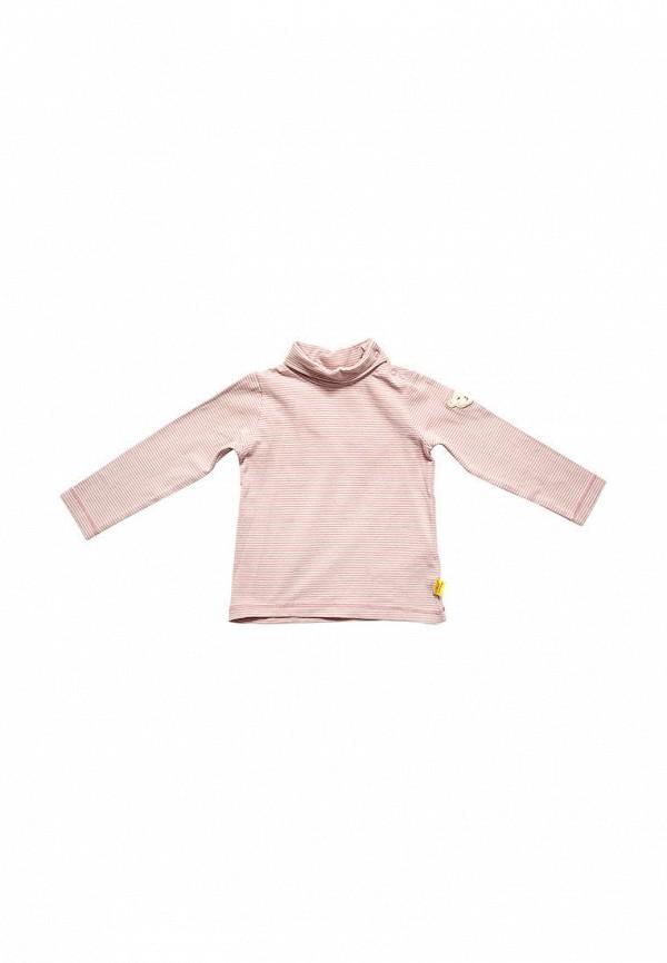 водолазка steiff для девочки, розовая