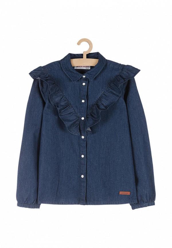 Рубашка джинсовая 5.10.15 5.10.15  синий фото