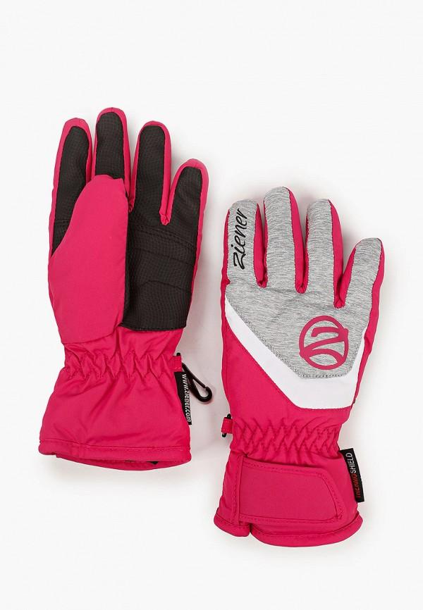 Перчатки горнолыжные Ziener Ziener  розовый фото