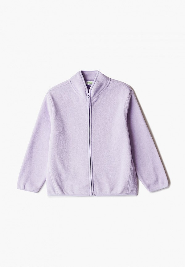 олимпийка sela для девочки, фиолетовая