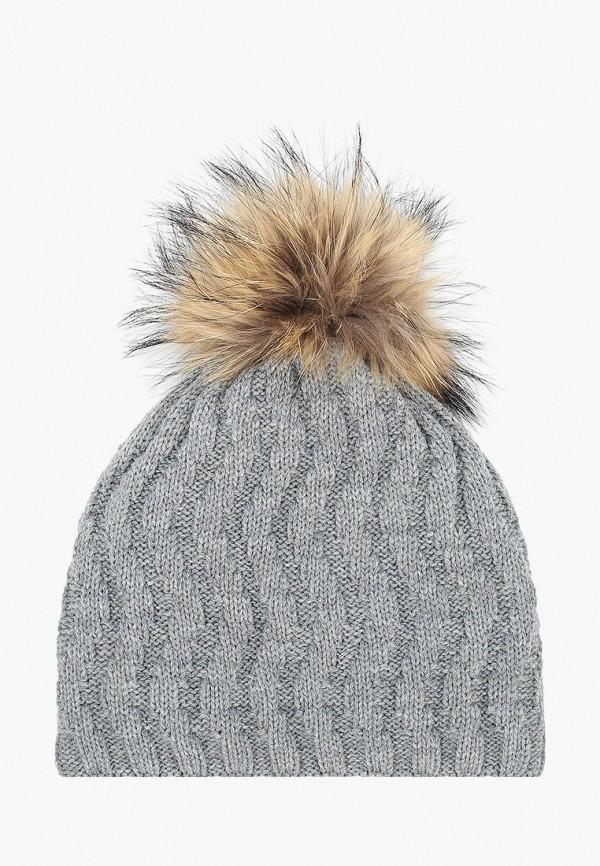 шапка vitacci для девочки, серая