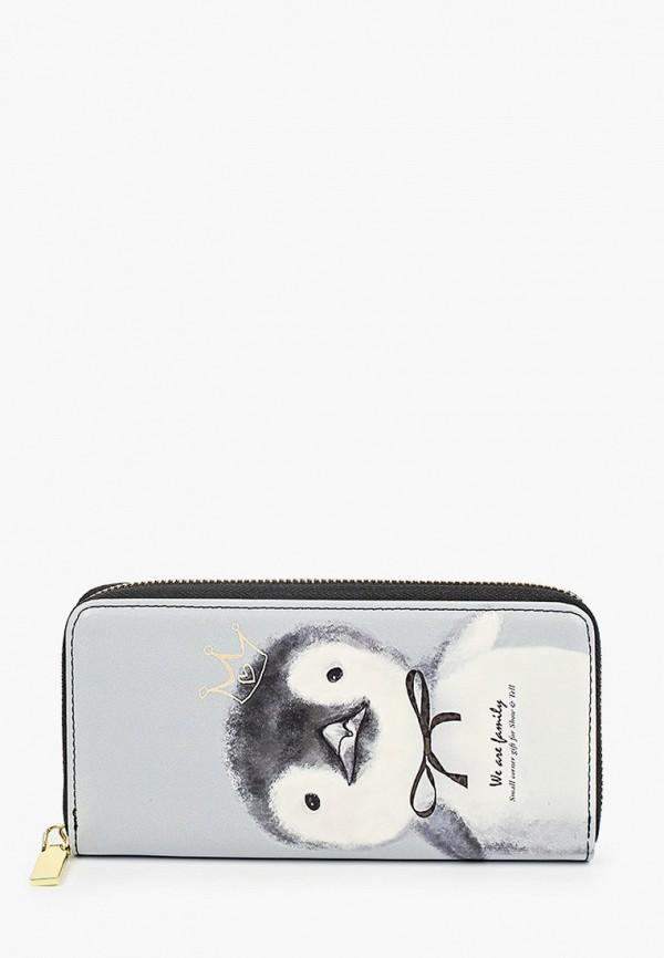 кошелёк vitacci для девочки, серый