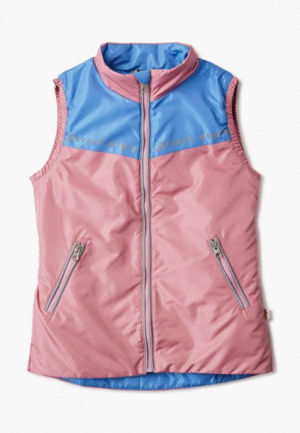 Жилет утепленный Модные Ангелочки Модные Ангелочки  розовый фото