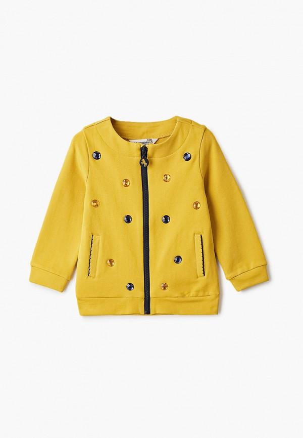 олимпийка coccodrillo для девочки, желтая