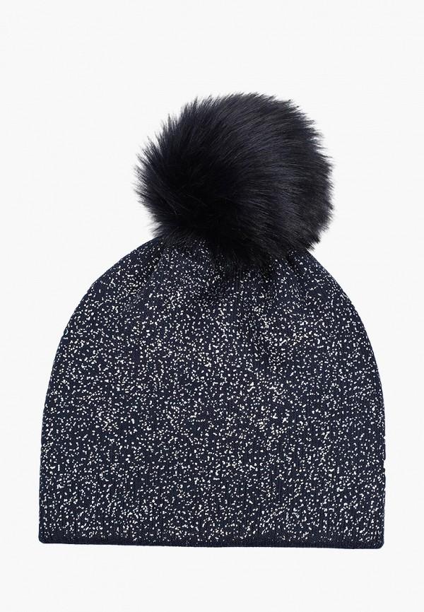 шапка coccodrillo для девочки, синяя