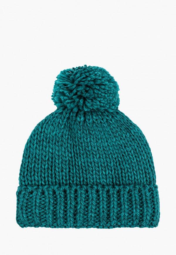 шапка coccodrillo для девочки, бирюзовая