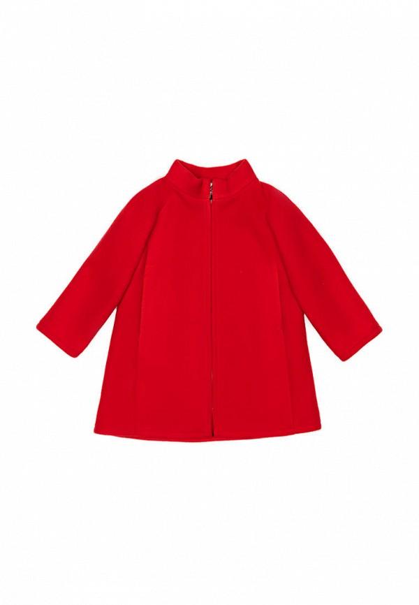 пальто sonata kids для девочки, красное