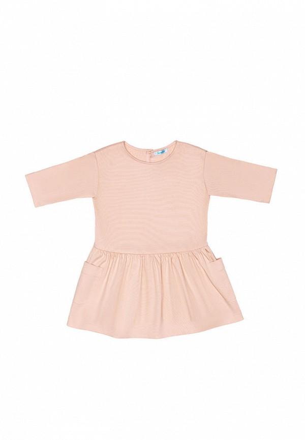 повседневные платье sonata kids для девочки, розовое