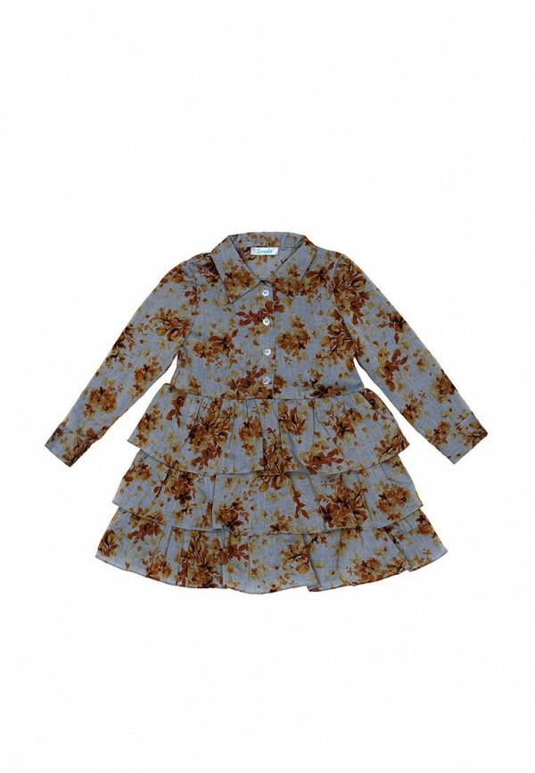 повседневные платье sonata kids для девочки, синее