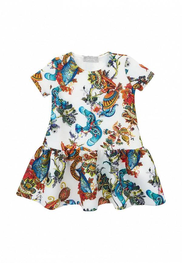 повседневные платье kids couture для девочки, белое