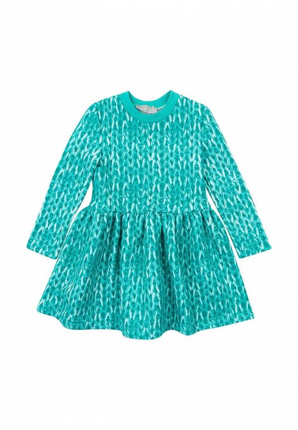 повседневные платье kids couture для девочки, бирюзовое