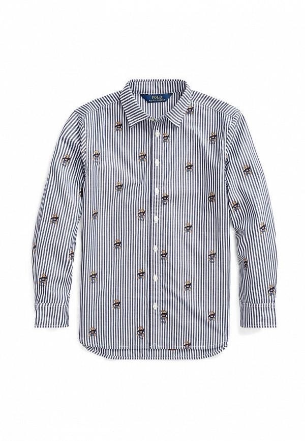 рубашка polo ralph lauren для девочки, белая