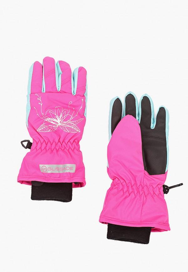 Перчатки горнолыжные Glissade Glissade  розовый фото