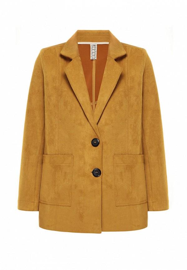 пиджак i am для девочки, бежевый