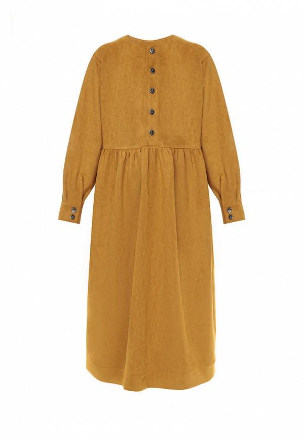 повседневные платье i am для девочки, бежевое