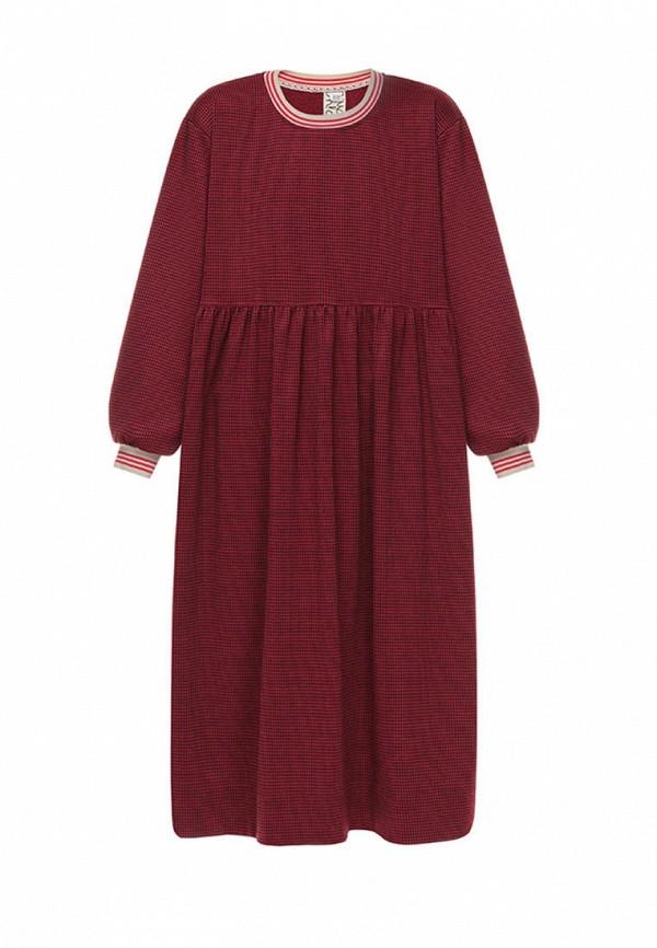 повседневные платье i am для девочки, красное
