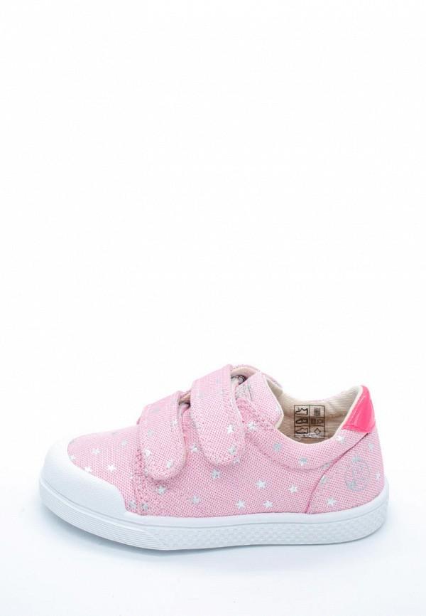 кеды pom d'api для девочки, розовые