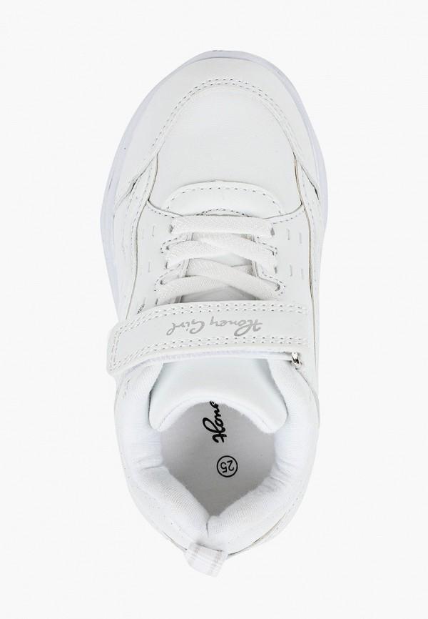 Кроссовки для девочки Honey Girl цвет белый  Фото 4