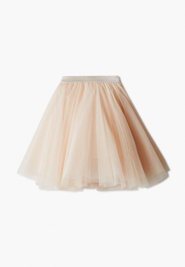 Юбка для девочки Sela цвет бежевый