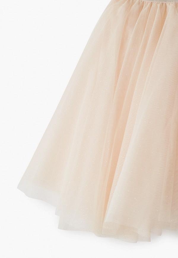 Юбка для девочки Sela цвет бежевый  Фото 3