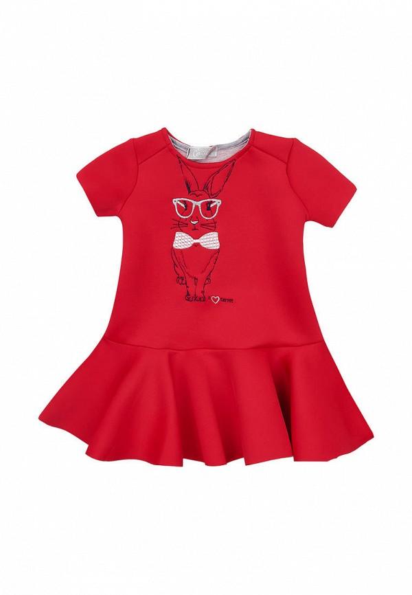 повседневные платье kids couture для девочки, красное