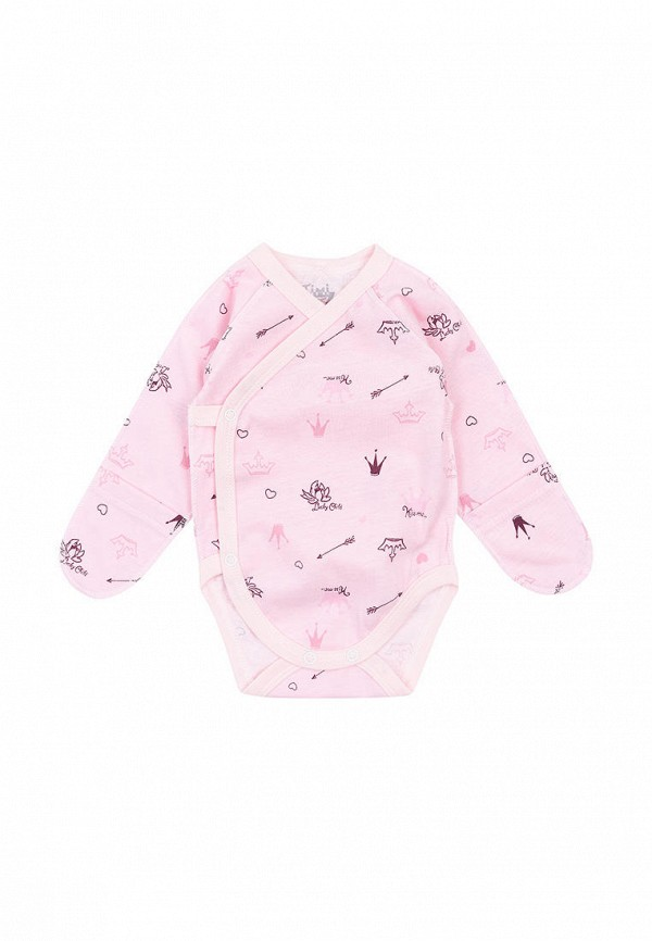 боди timi tex для девочки, розовые