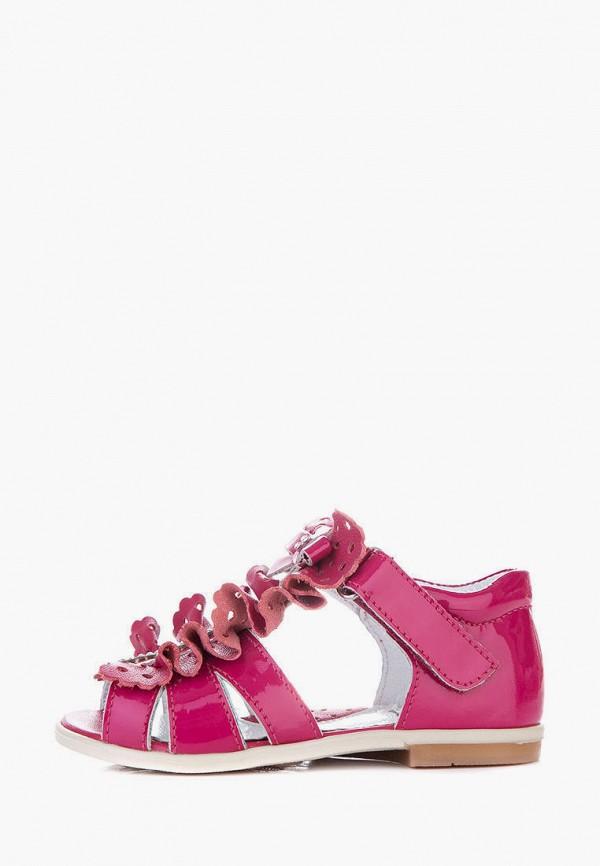 сандалии miracle me для девочки, розовые