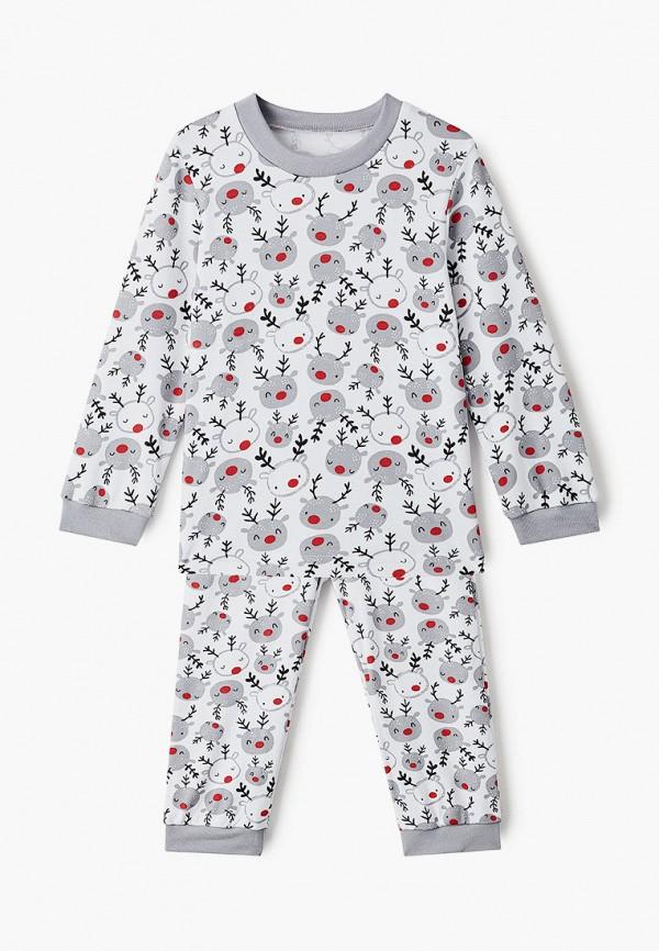 Пижама Веселый малыш Веселый малыш  белый фото