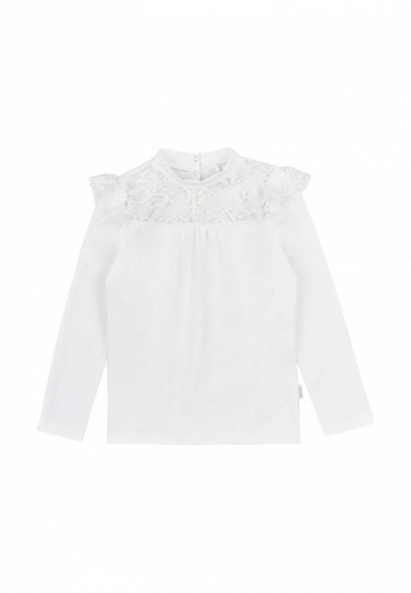 блузка бемби для девочки, бежевая