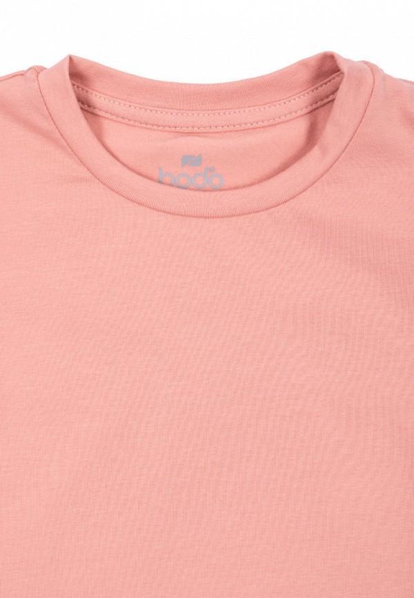 Футболка bodo цвет розовый  Фото 3
