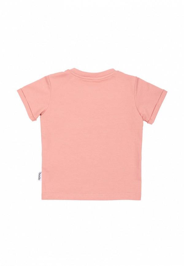 Футболка bodo цвет розовый  Фото 2