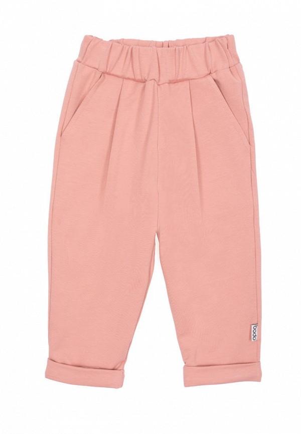 Брюки для девочки bodo цвет розовый
