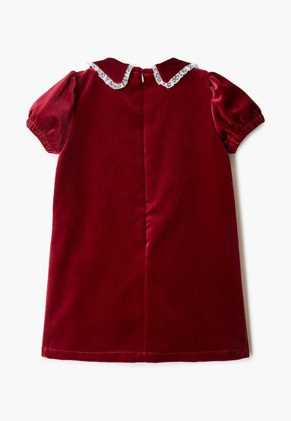 Платья для девочки Ete Children цвет бордовый  Фото 2