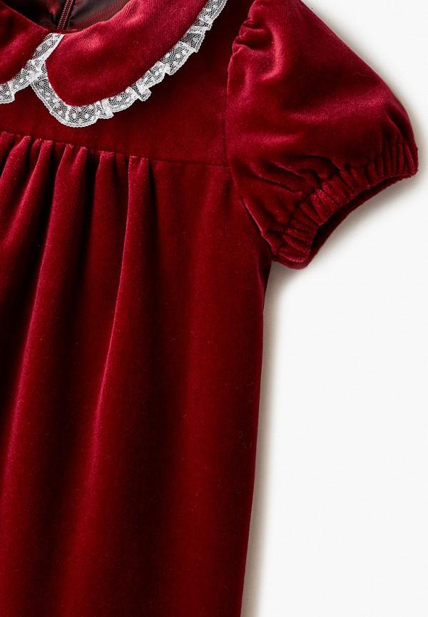 Платья для девочки Ete Children цвет бордовый  Фото 3