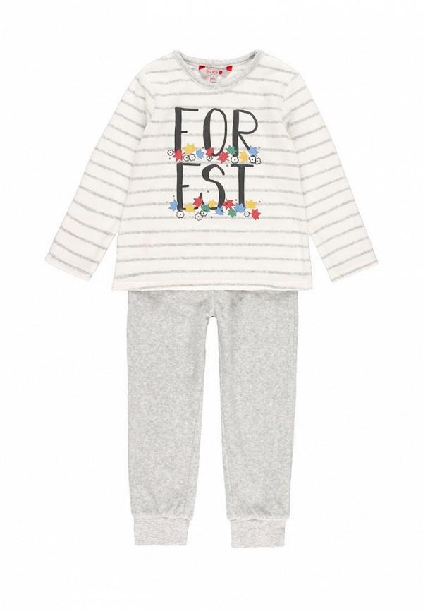 пижама boboli для девочки, разноцветная