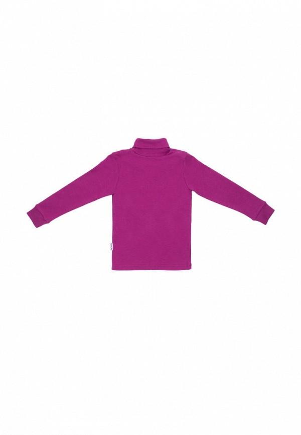 Водолазка для девочки bodo цвет фиолетовый  Фото 2