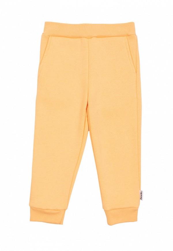Брюки спортивные для девочки bodo цвет желтый