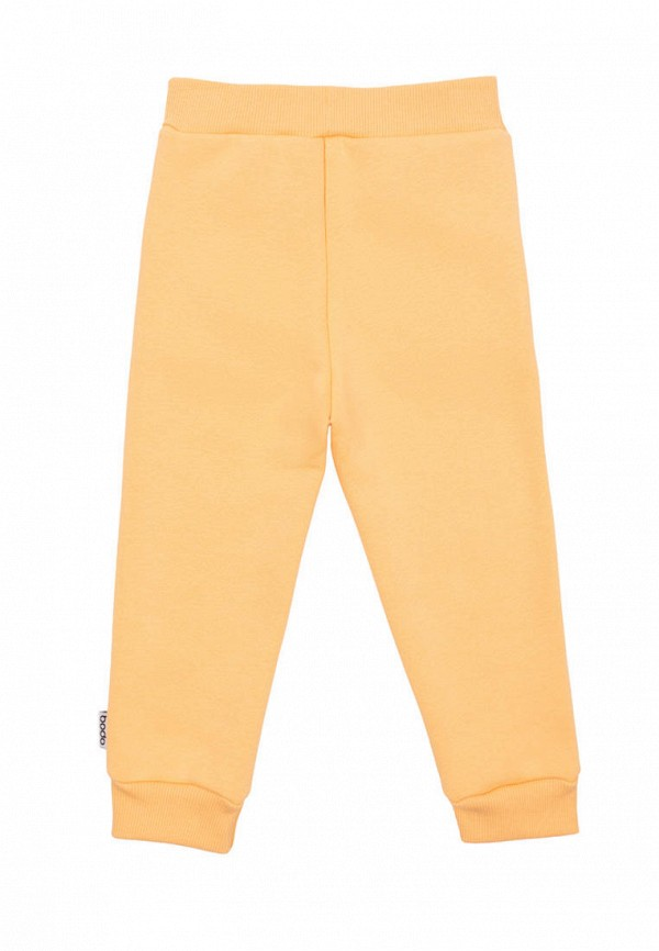 Брюки спортивные для девочки bodo цвет желтый  Фото 2