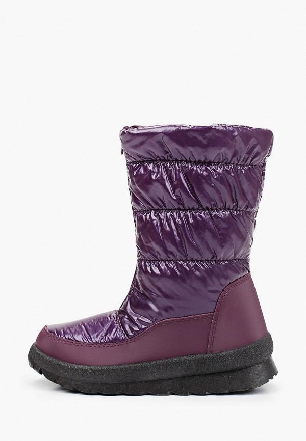 дутики makfly для девочки, фиолетовые