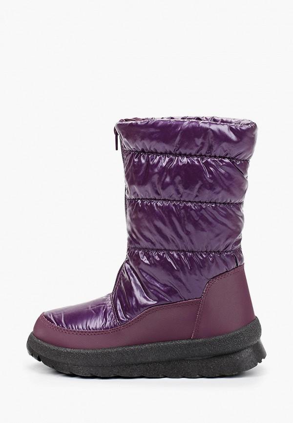 дутики nobbaro для девочки, фиолетовые