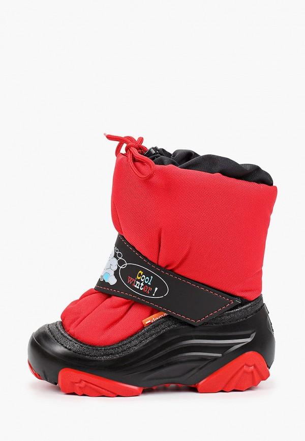 сапоги demar для девочки, красные